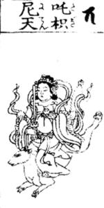 ダキニ天-荼枳尼天画像②