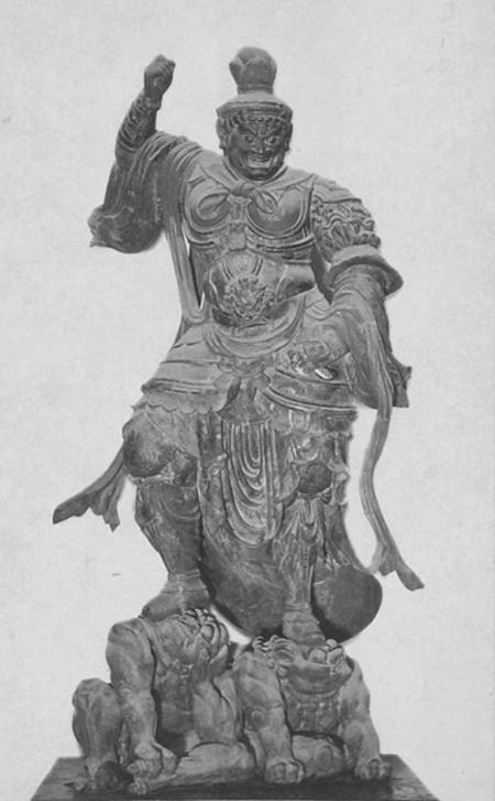 持国天立像 東寺 画像