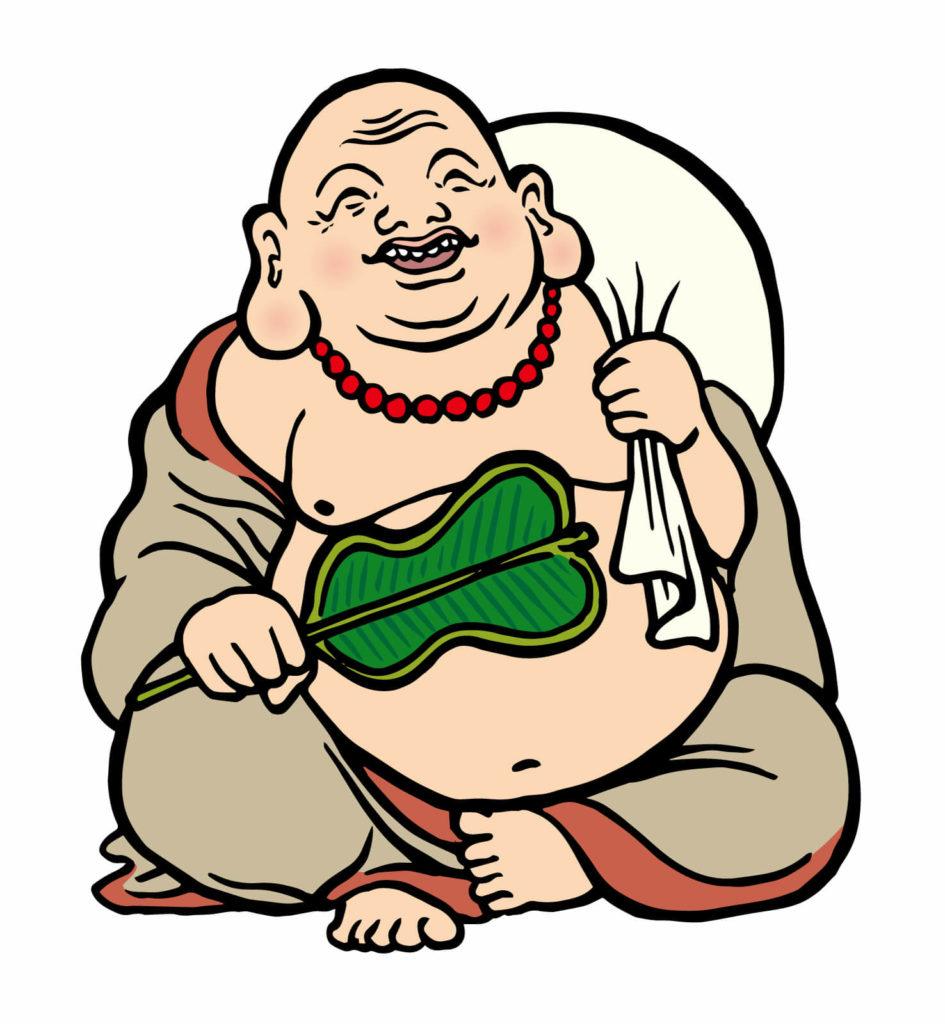 七福神 イラスト画像 布袋尊
