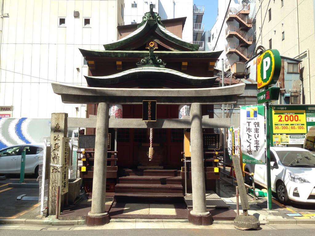 日本橋七福神巡り 寶田恵比寿神社