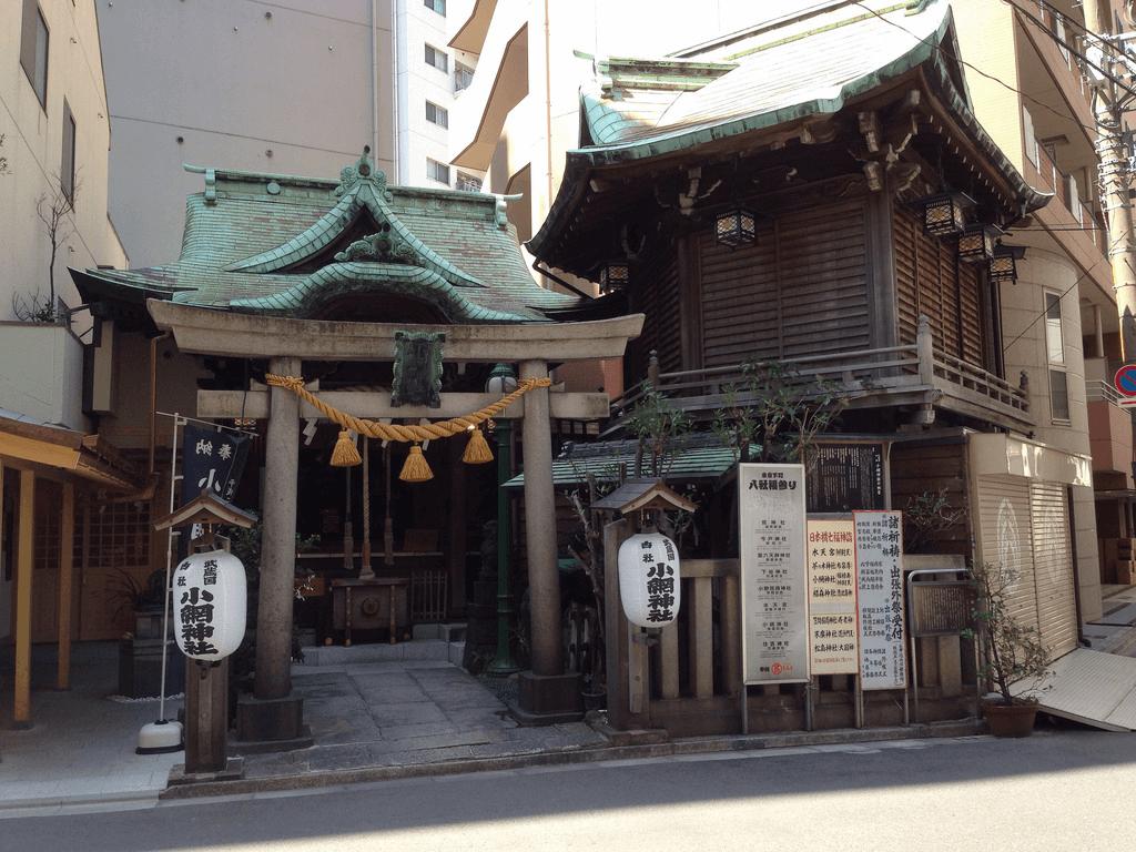 日本橋七福神巡り 小網神社