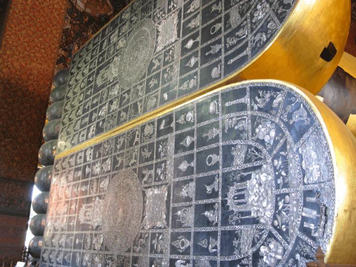 涅槃像-涅槃仏 画像 足の裏