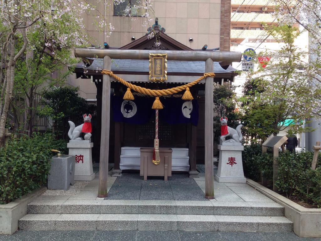日本橋七福神巡り 茶ノ木神社