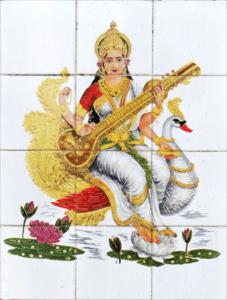 弁財天-弁才天 画像 インド-サスラヴァティー