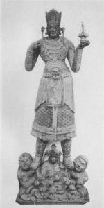 毘沙門天立像 画像 東寺