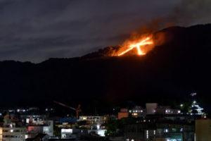 迎え盆 送り盆 京都五山の送り火